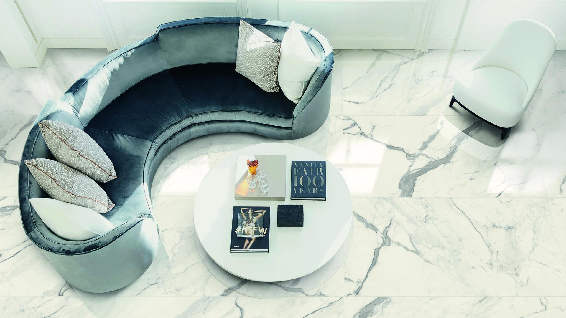 Grès porcellanato effetto marmo - Bistrot