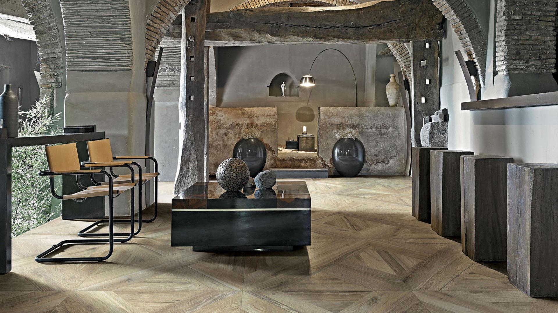 Grès porcellanato effetto legno - Planches de Rex Miel