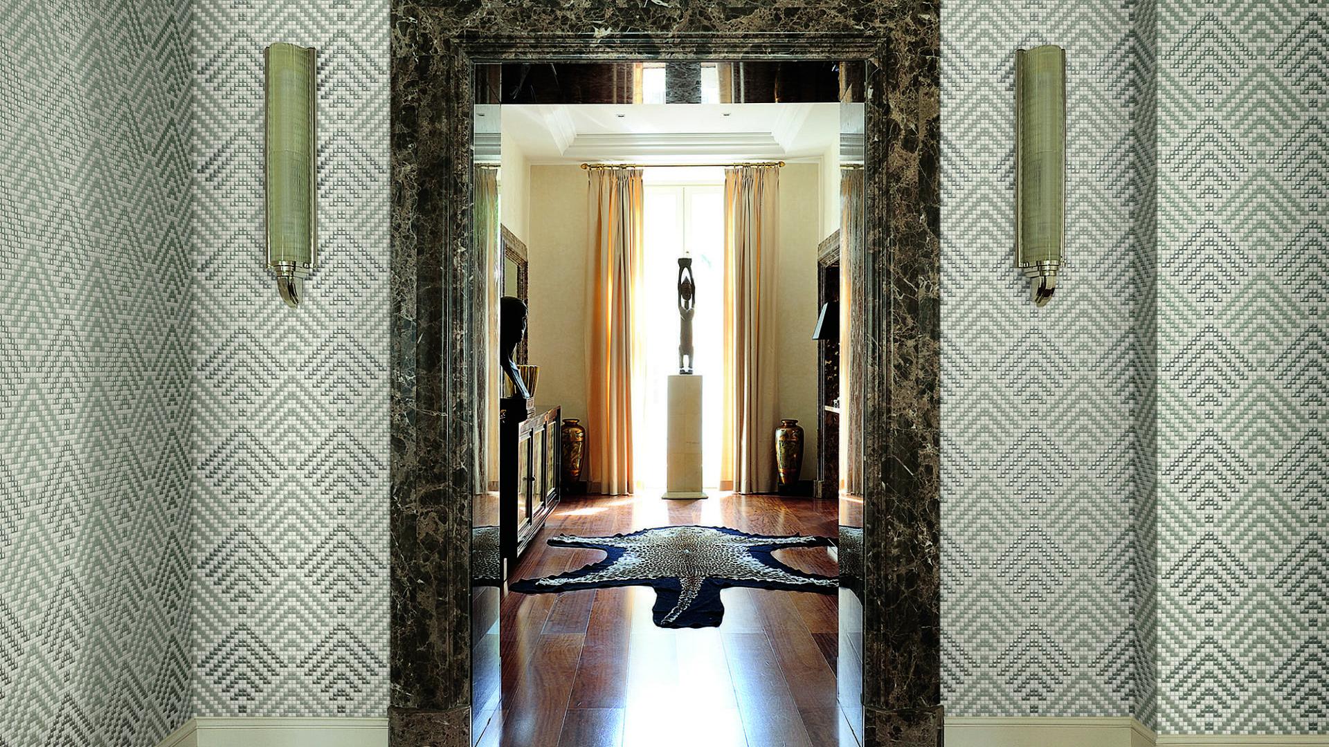 Allure: moduli decorativi realizzati in mosaico ceramico