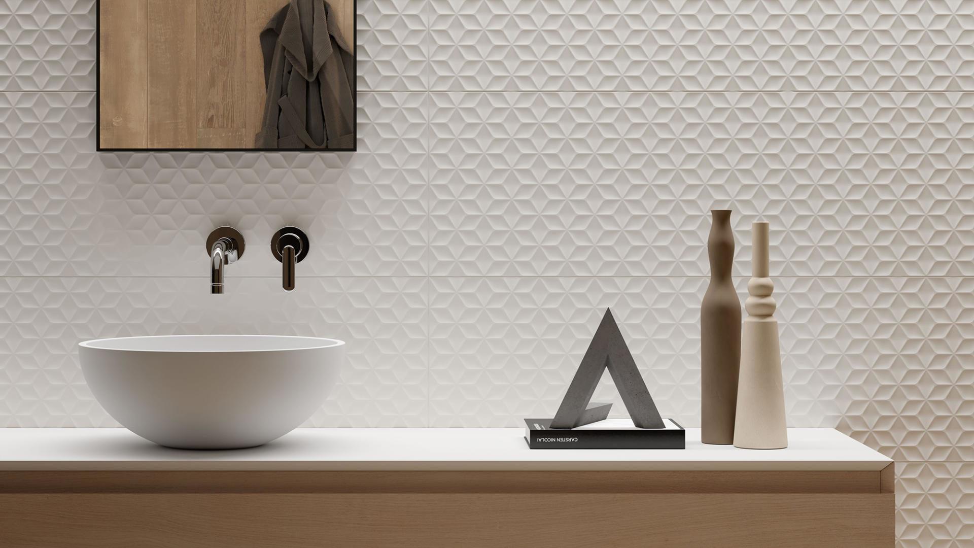 Forme Bianche, progetto ceramico tridimensionale