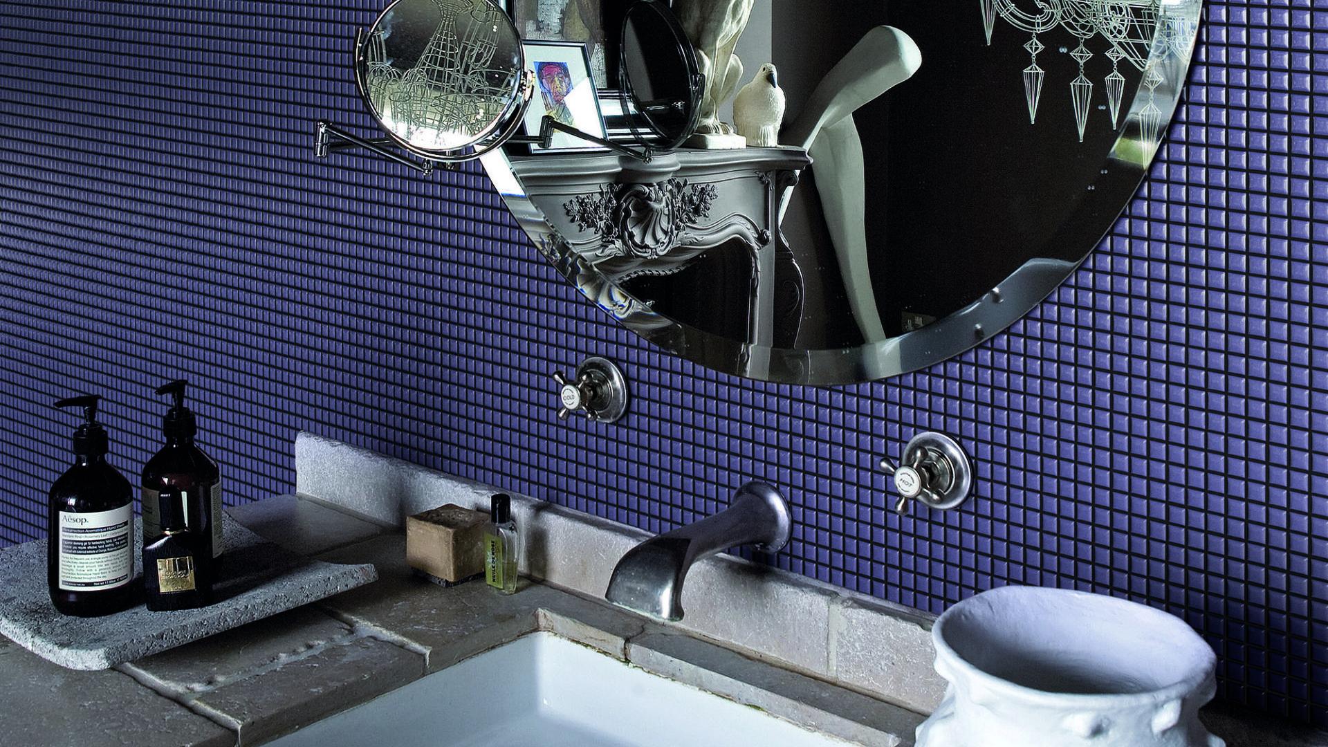 Mosaico ceramico Diva Violet