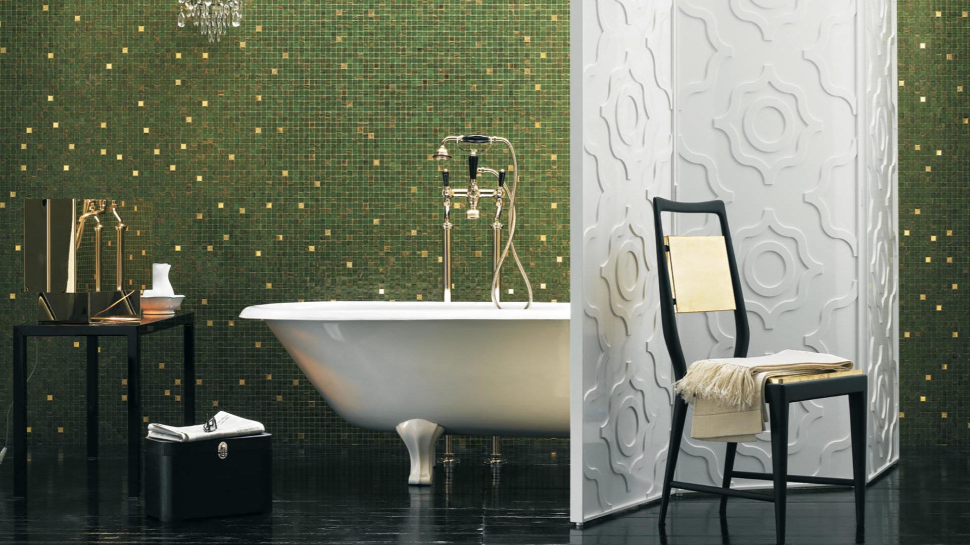 Mosaico Gold Blends. 20x20mm