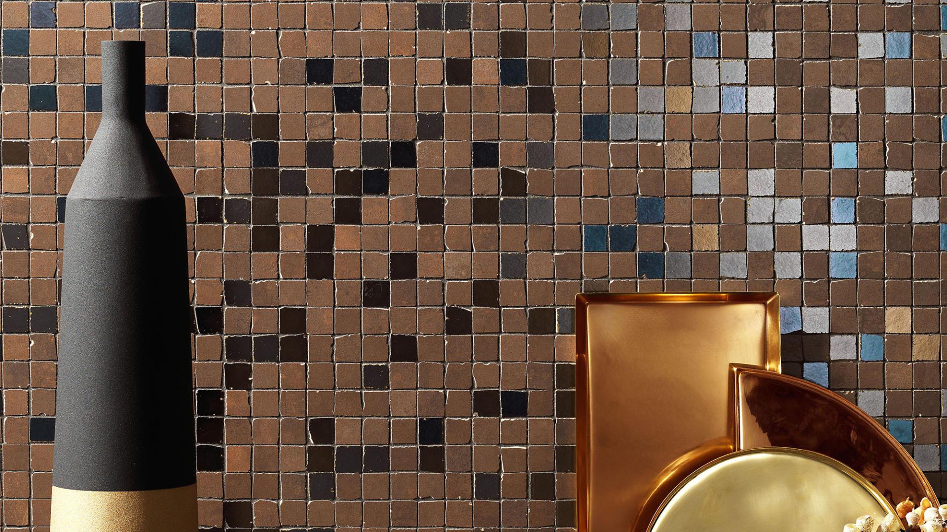 Mosaico in grès di Italgraniti, Metaline